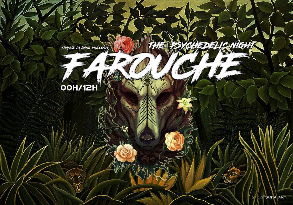 Party Flyer Trance ta race : farouche ( Rrrrrrrrrrrrrrr!) 6 Jul '19, 23:30