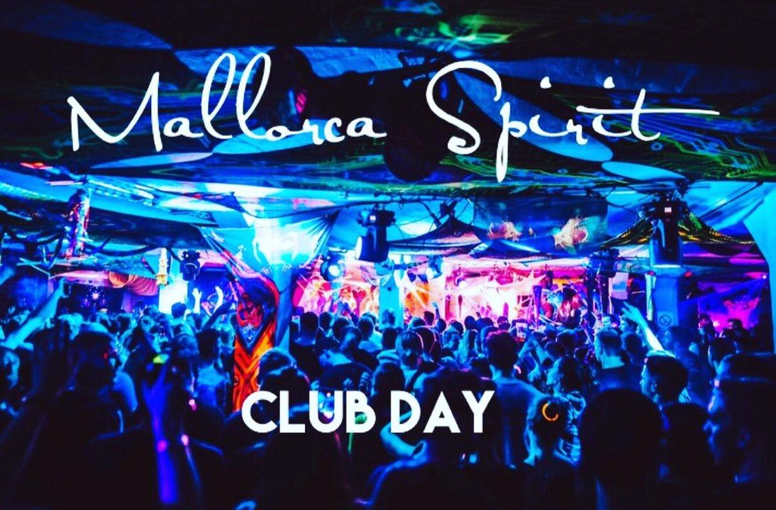 Party Flyer Mallorca Spirit Club Day 12 Jul '19, 22:00