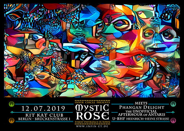 The Mystic Rose meets Phangan Delight - The inofficial Afterhour from Antaris 12 Jul '19, 23:00
