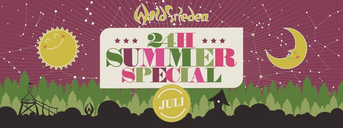 Party Flyer 24H Summer Special Juli 13 Jul '19, 14:00