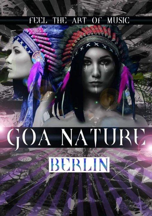 Party Flyer ૐ GOA Nature ૐ Beautiful Spirits of the Night-Open Air 13 Jul '19, 14:00