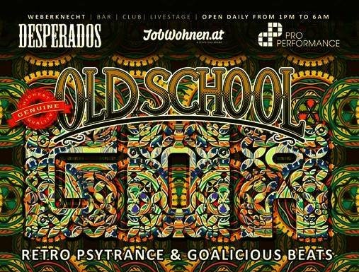 Party Flyer Oldschool Goa Party 13 Jul '19, 22:00
