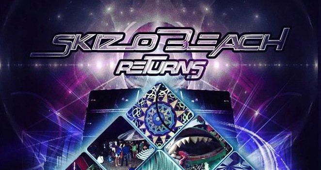 Party Flyer Skizobeach ReTurns/@2 13 Jul '19, 20:00