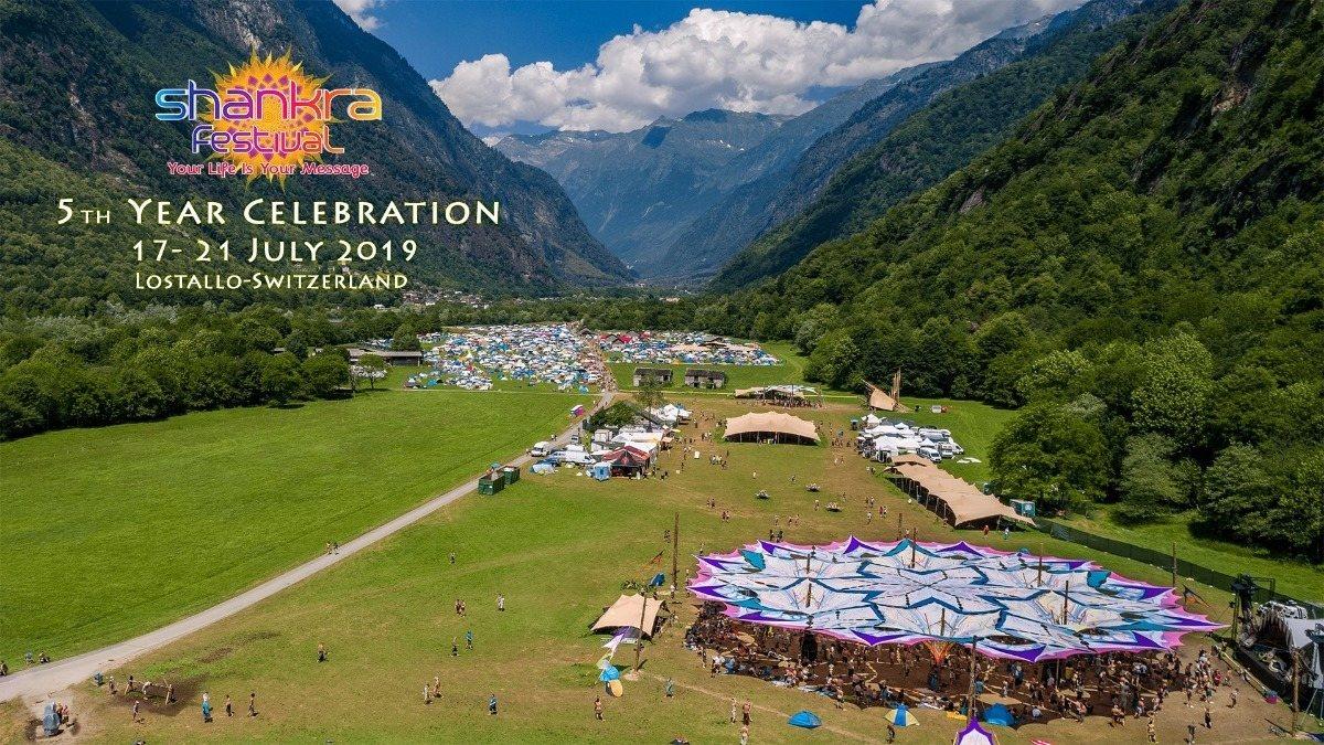 Party Flyer SHANKRA FESTIVAL 2019 17 Jul '19, 15:00