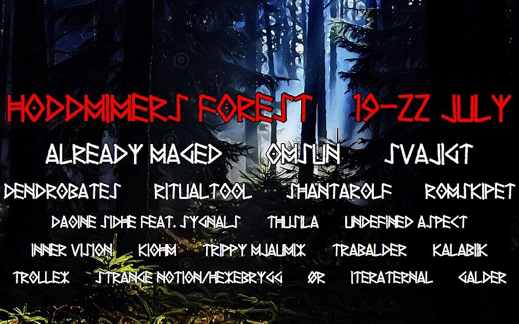 Party Flyer Hoddmimers Forest 19 Jul '19, 18:00