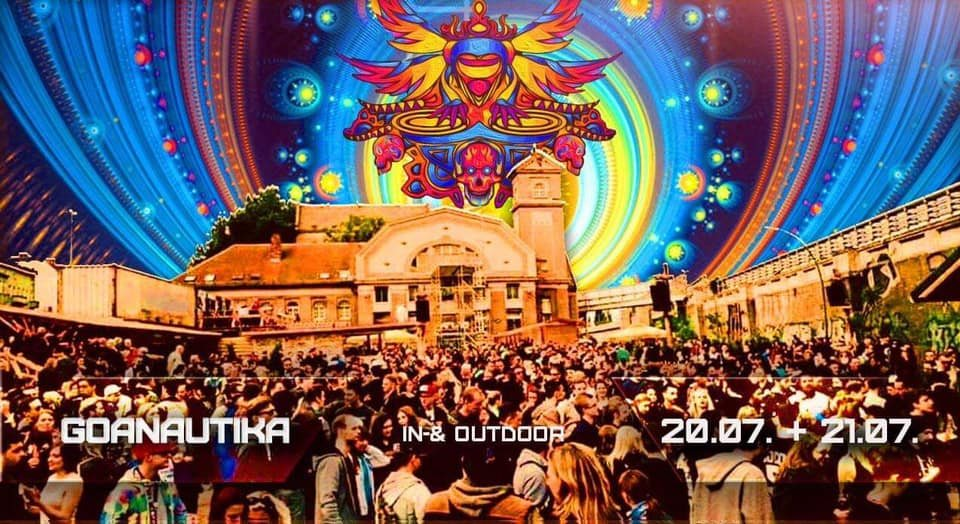 Party Flyer Goanautika spring Festival 2 Days drinnen & draußen 20 Jul '19, 14:00