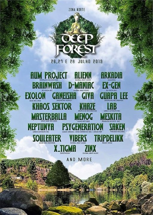 Deep Forest Festival 26 Jul '19, 15:00