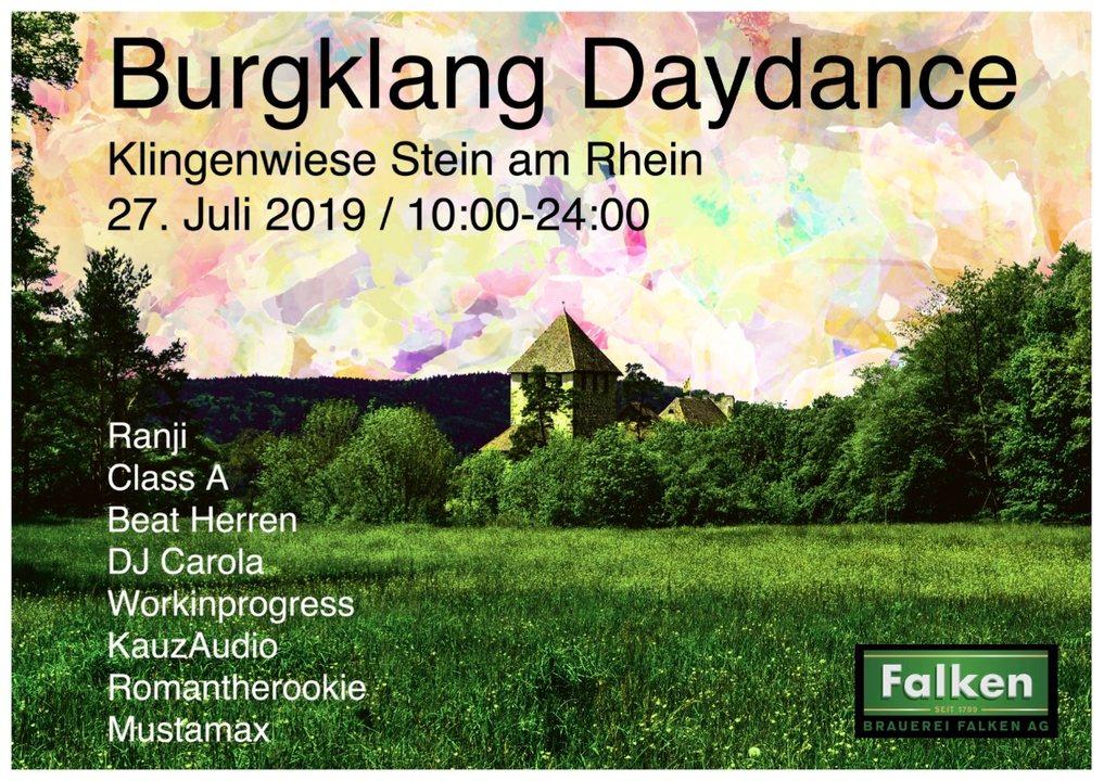 Burgklang Daydance 27 Jul '19, 10:00