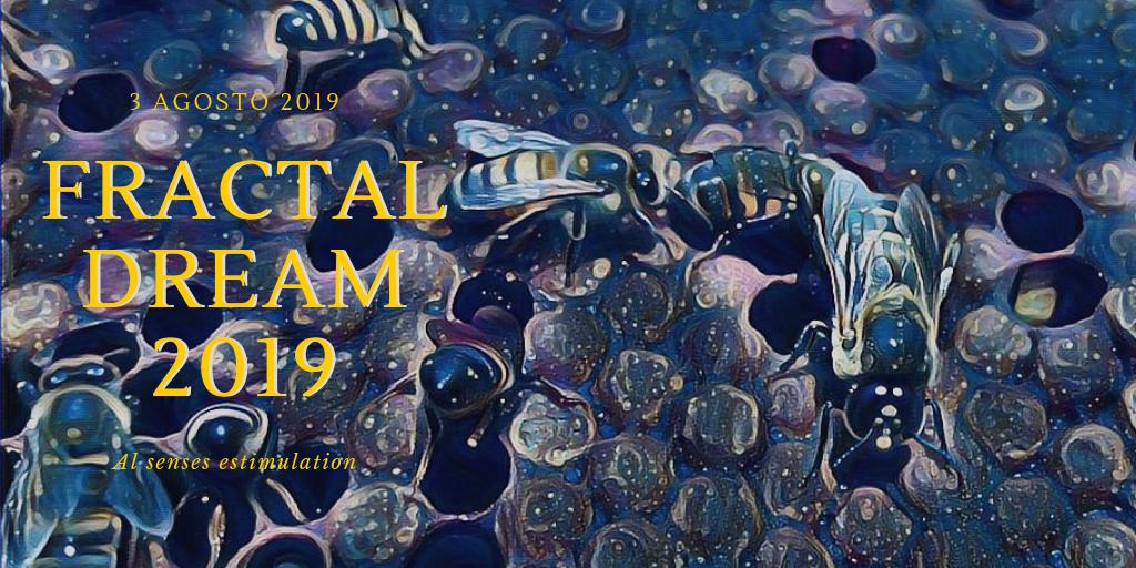 Party Flyer Fractal dream 2019 3 Aug '19, 19:30