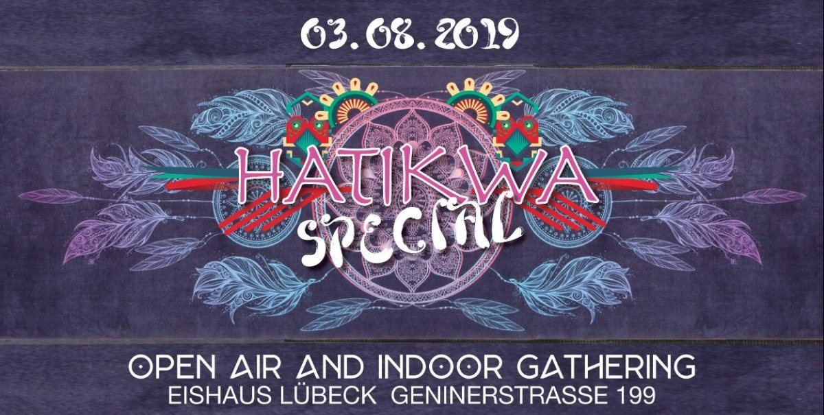Party Flyer Hatikwa Special (Indoor/Outdoor) 3 Aug '19, 20:00