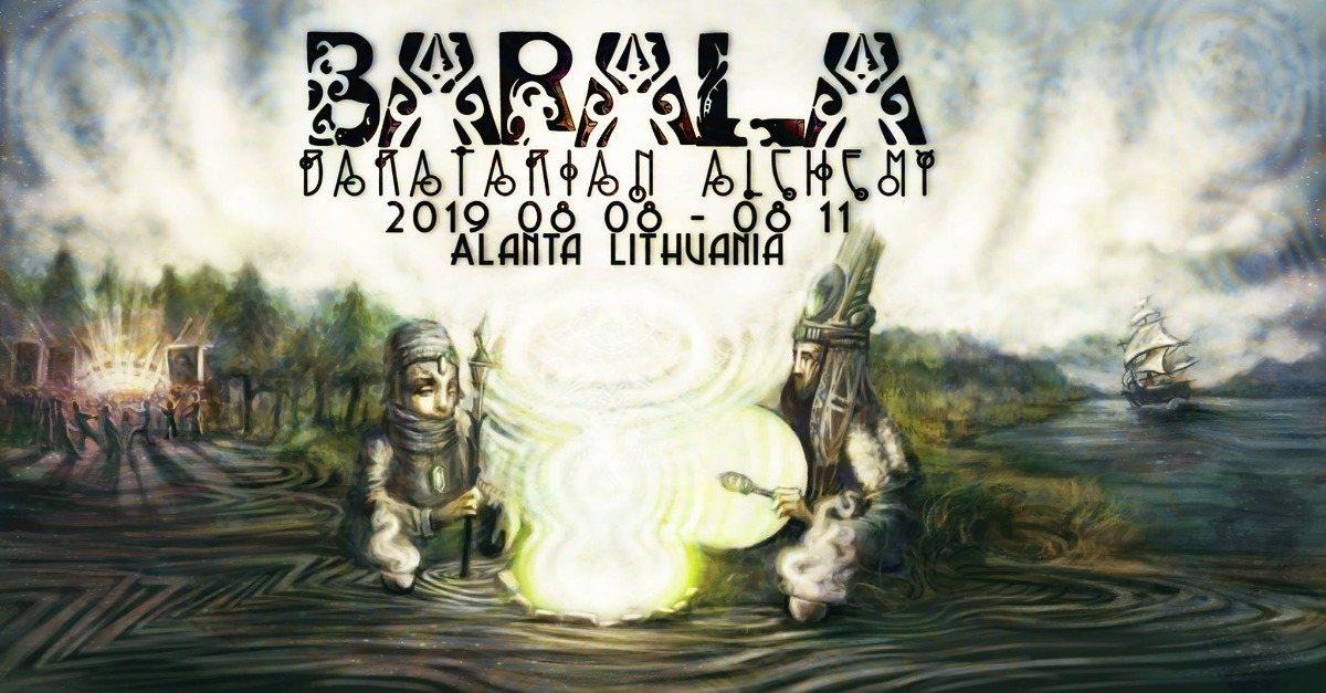Party Flyer Barala - Baratarian Alchemy Gathering 8 Aug '19, 20:00