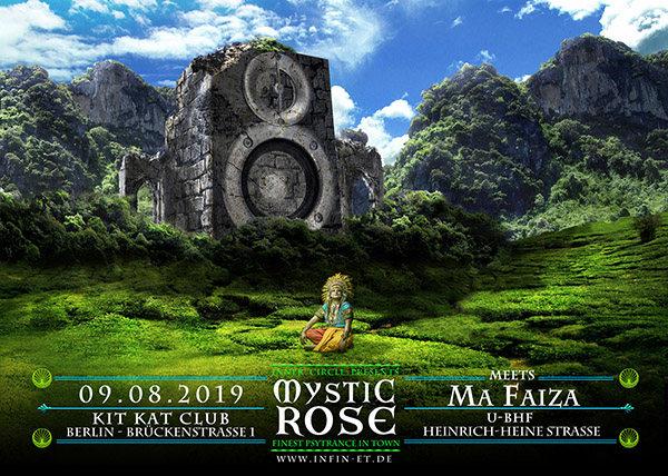The Mystic Rose meets Ma Faiza 9 Aug '19, 23:00
