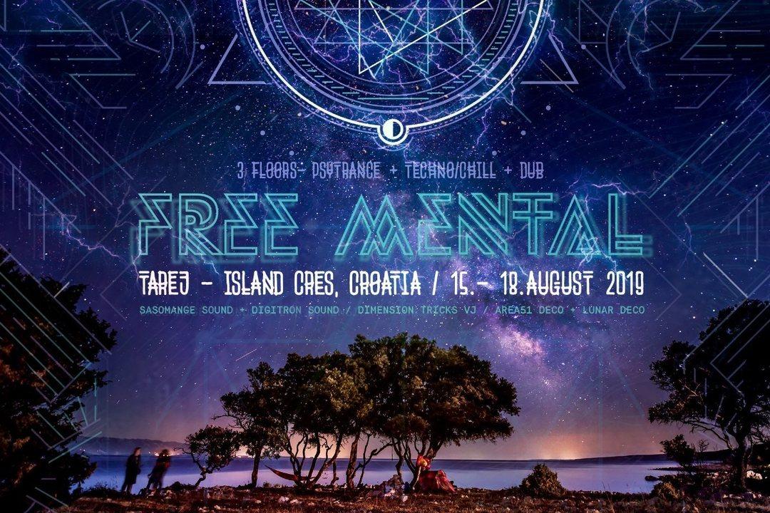 Party Flyer FreeMental Festival - Beta Edition 15 Aug '19, 20:00