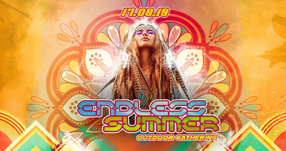 Party Flyer ENDLESS SUMMER OUTDOOR GATHERING 2019 17 Aug '19, 14:00