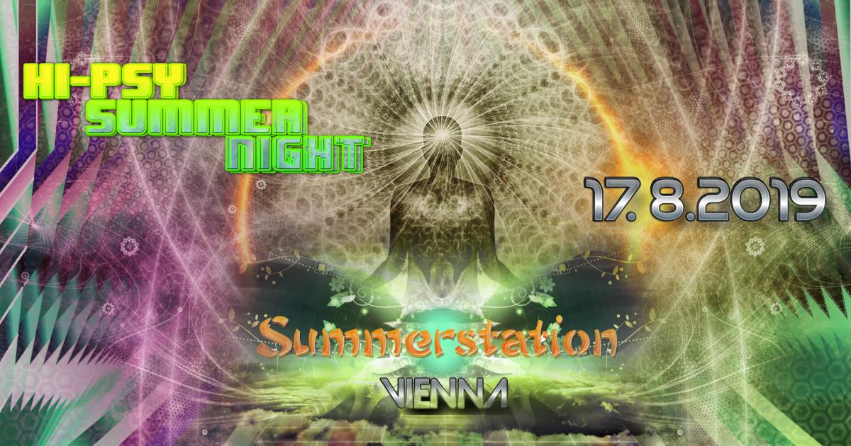 Party Flyer HI-PSY Summer 17 Aug '19, 14:00