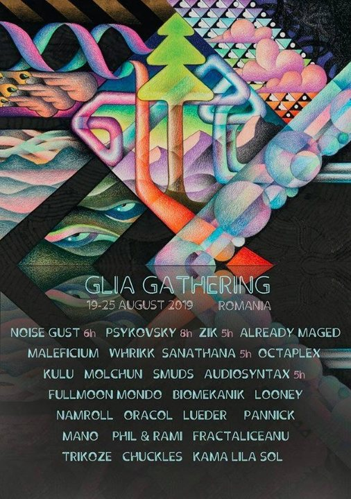 Party Flyer Glia Gathering 2019 19 Aug '19, 12:00