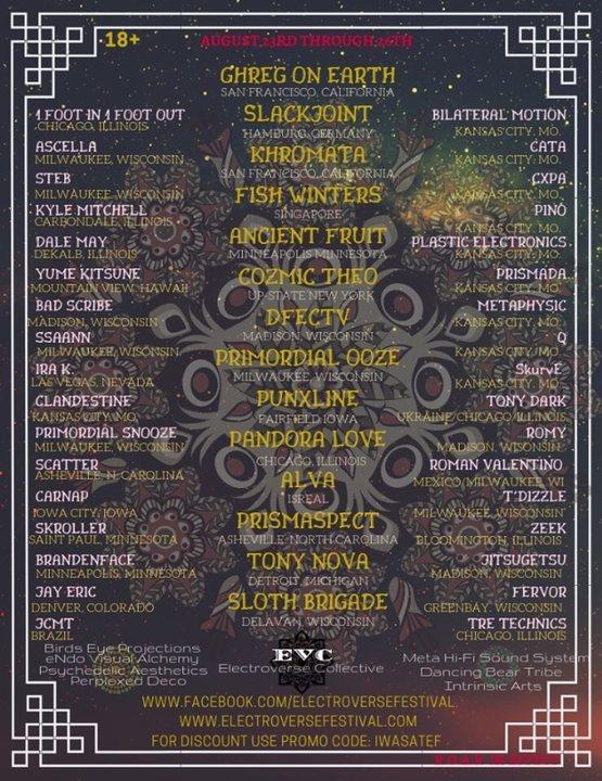 Electroverse 23 Aug '19, 14:00