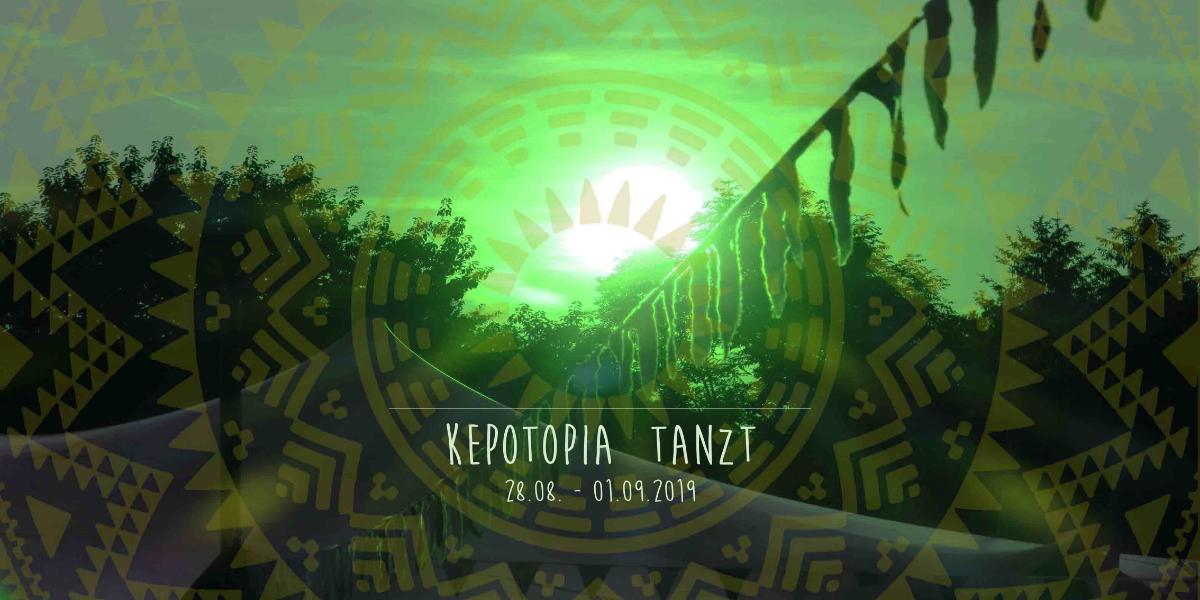 Party Flyer Kepotopia tanzt 28 Aug '19, 16:00