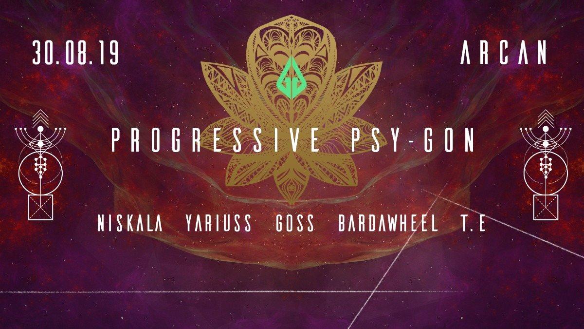 Party Flyer Progressive Psy Gon 30 Aug '19, 22:00
