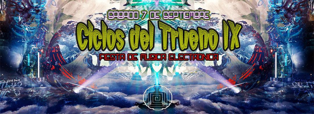 Party Flyer Ciclos del Trueno IX 7 Sep '19, 22:00