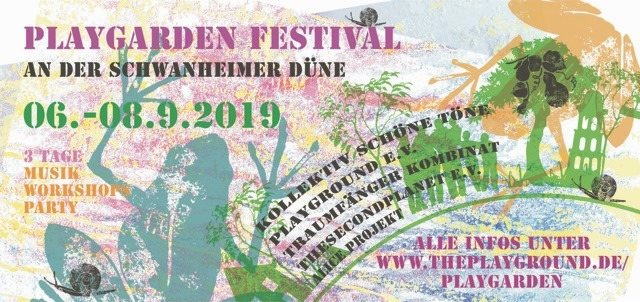 Party Flyer Playgarden Festival 2019 6 Sep '19, 22:00