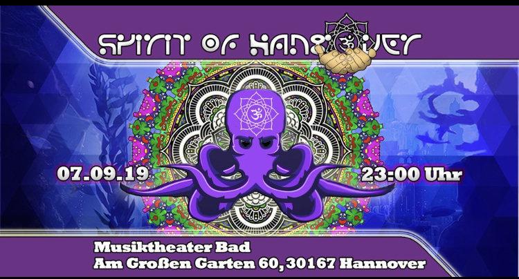 Spirit of Hangover 7 Sep '19, 23:00