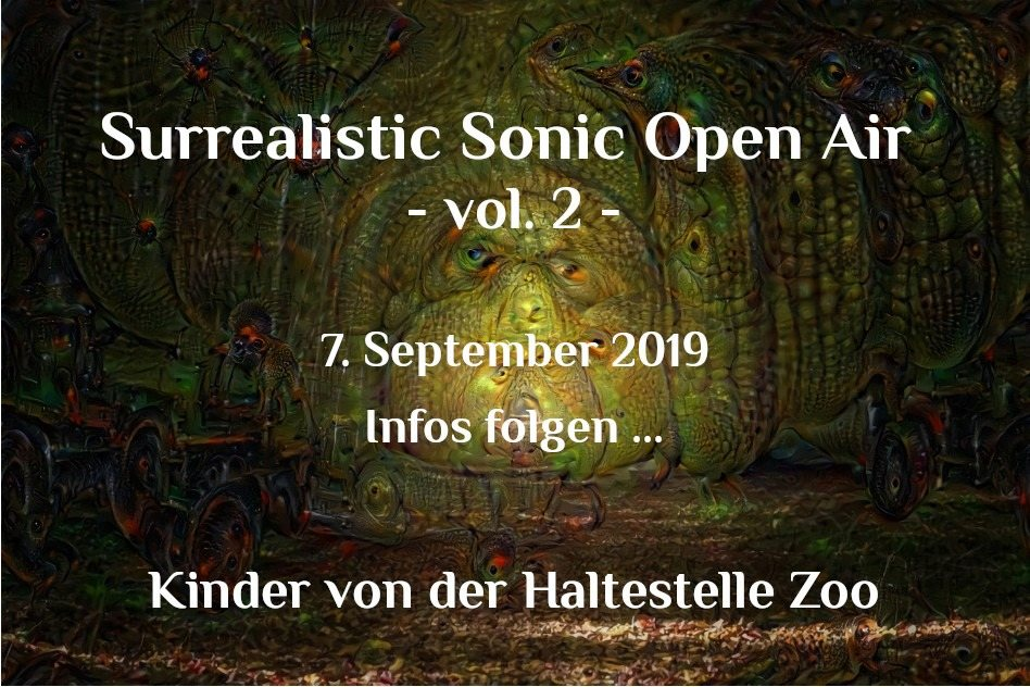 Surrealistic Sonic Open Air Vol. 2 7 Sep '19, 21:00