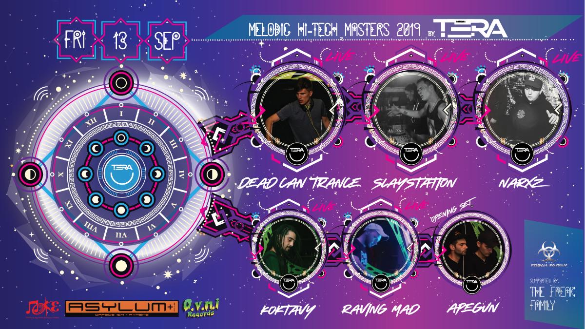 Melodic Hi-Tech Masters 2019 - Athens, Greece 13 Sep '19, 23:00