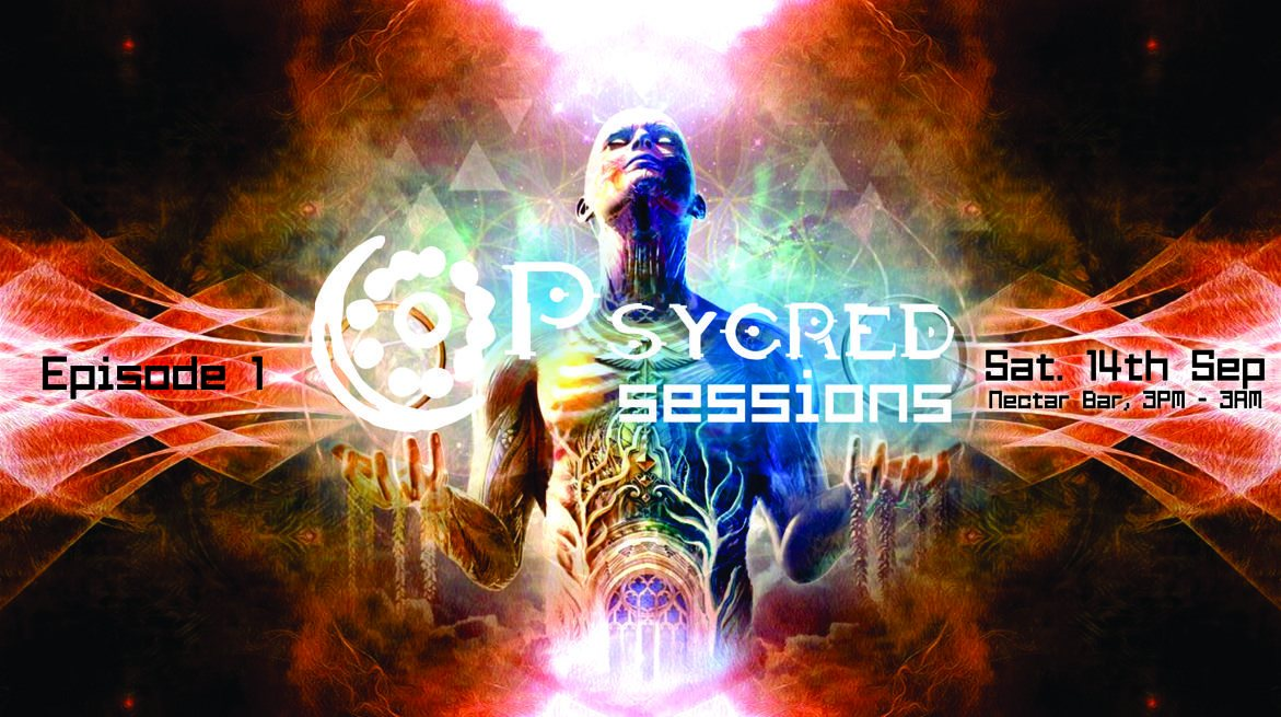 Party Flyer Psycred Sessions - Episode 1 14 Sep '19, 15:00