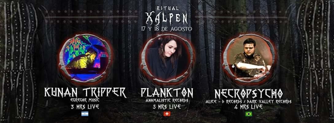 Party Flyer Ritual Xalpen 17 Aug '19, 21:00