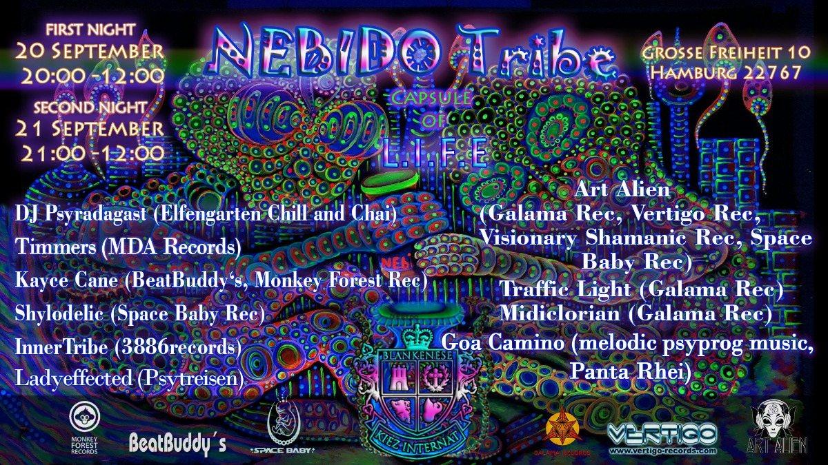 Nebido Tribe (Capsule of Life) 2019 20 Sep '19, 20:00