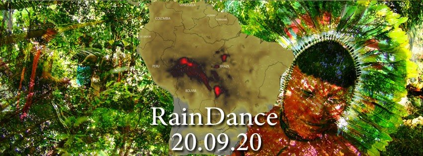Party Flyer Raindance for the Amazon: Experimental Music Edition 20 Sep '19, 22:00