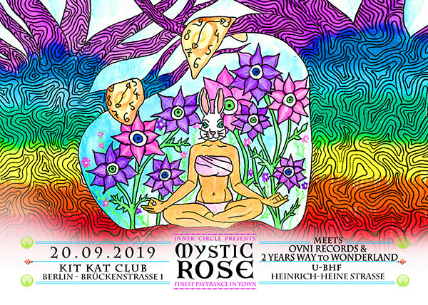 The Mystic Rose meets Ovni Rec & 2 Year Way to Wonderland 20 Sep '19, 23:00