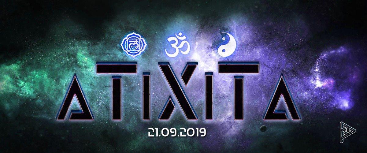 Party Flyer ૐ a T i X i T a ૐ 21 Sep '19, 23:00