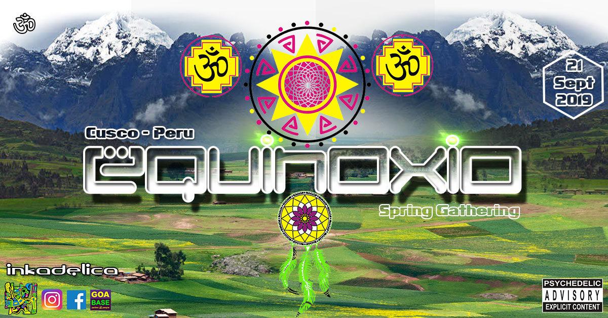 Party Flyer Equinoxio - Spring Gathering 21 Sep '19, 18:00