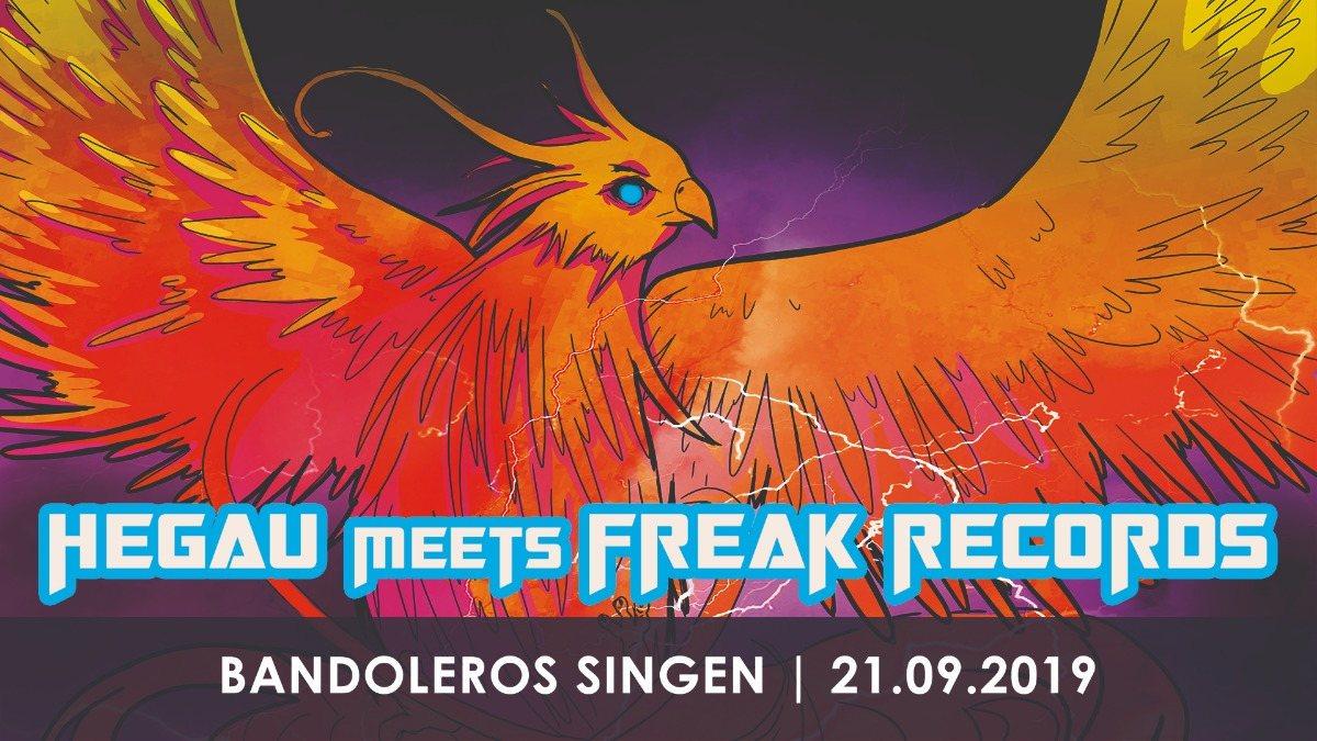 Party Flyer Hegau meets Freak Records 21 Sep '19, 23:00