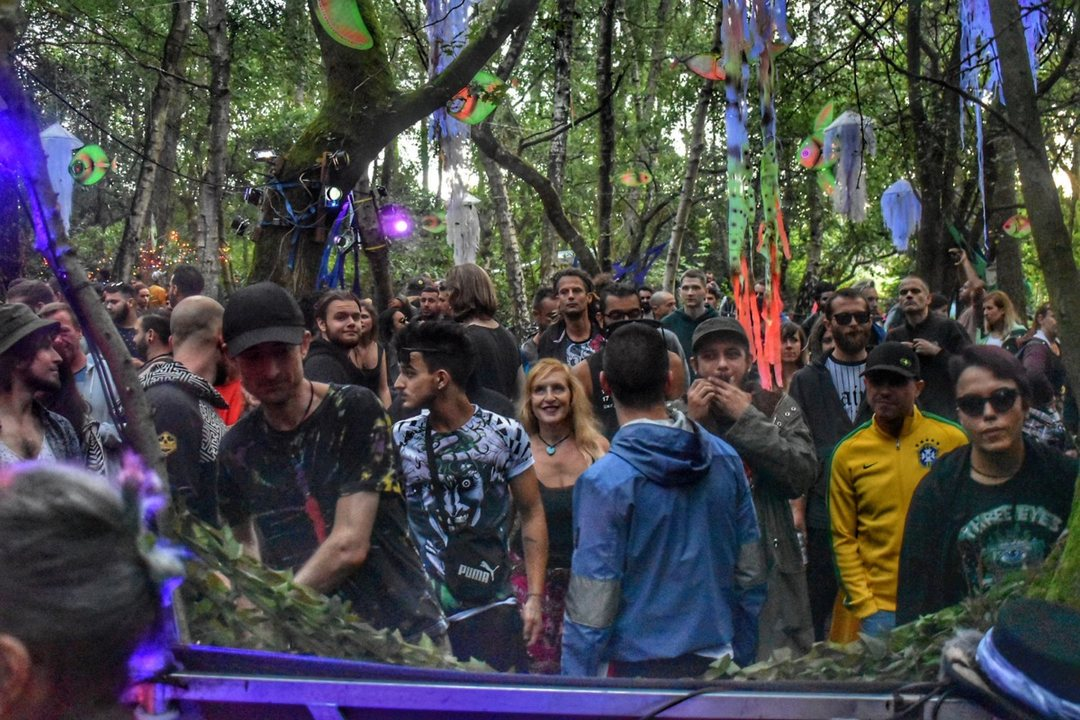 Party Flyer The Psychedelic Way Forest Gathering 21 Sep '19, 23:30