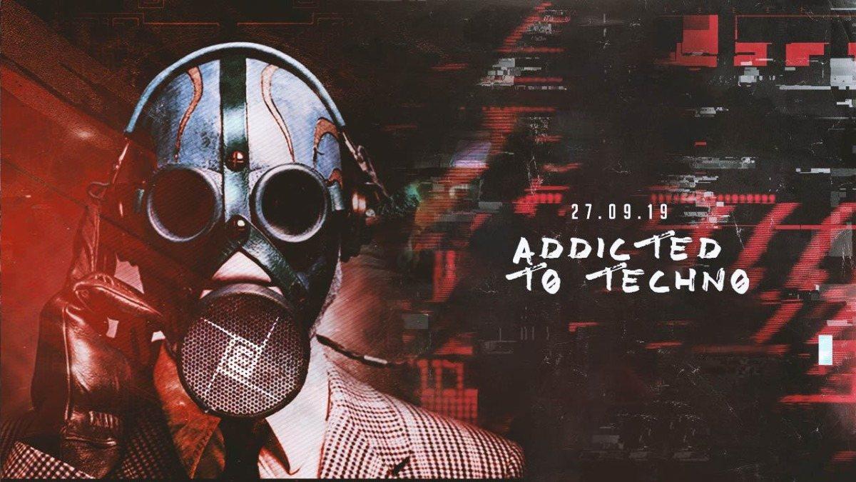 Party Flyer Addicted w/ Josephine Wedekind 27 Sep '19, 23:00