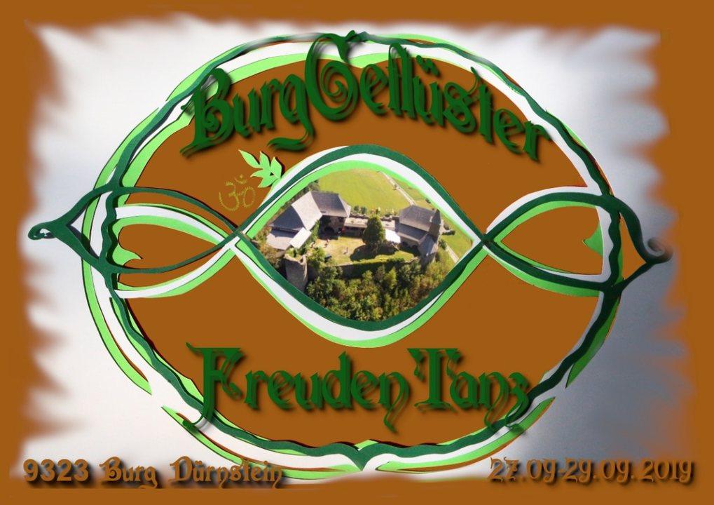 Party Flyer BurgGeflüster FreudenTanz 27 Sep '19, 20:00