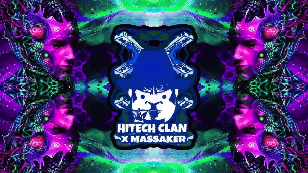 Party Flyer Hitech Clan x Hightech Massaker 27 Sep '19, 23:00