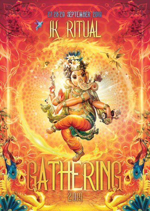 Party Flyer IK Ritual Gathering 2019 27 Sep '19, 16:00