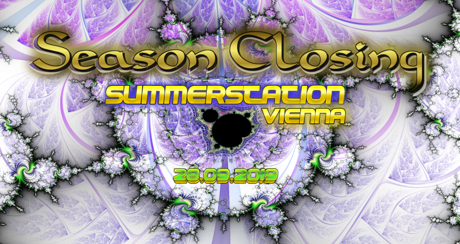 Party Flyer Season Closing at ॐ Summerstation ॐ 28 Sep '19, 14:00