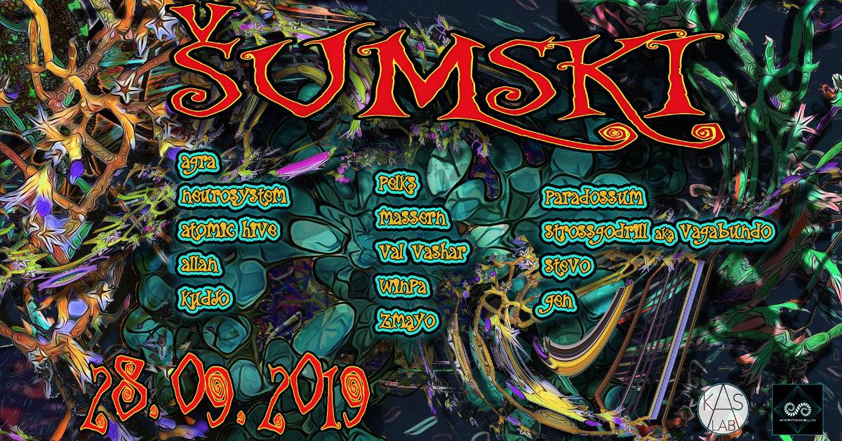 Party Flyer Šumski 28 Sep '19, 18:30