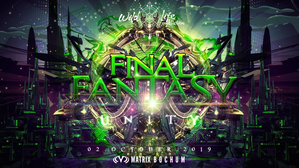 "Party Flyer Final~Fantasy ""Unity"" 2 Oct '19, 22:00"