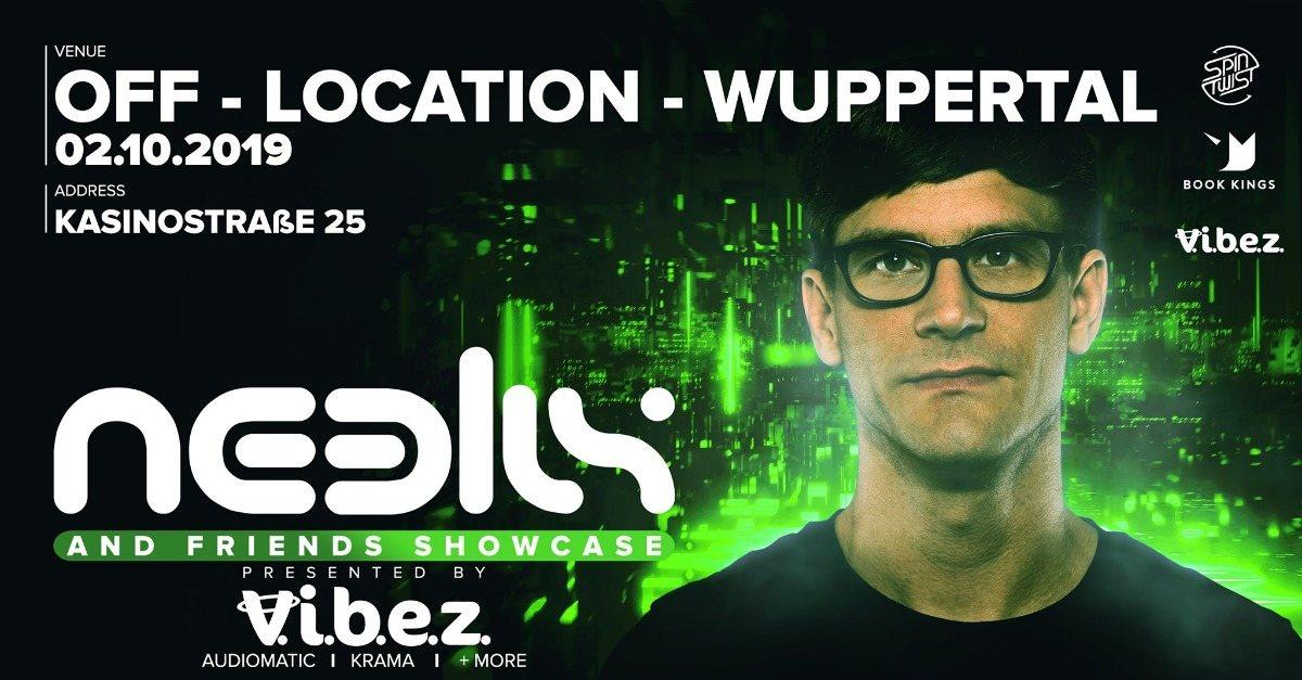 Party Flyer Neelix & Friends - Wuppertal 2 Oct '19, 22:00