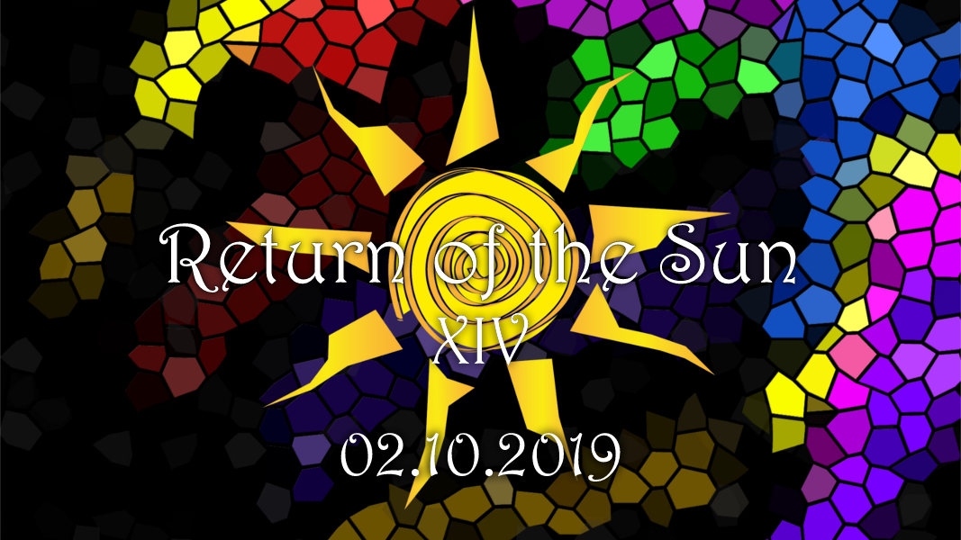 Party Flyer RETURN OF THE SUN 14 2 Oct '19, 23:00