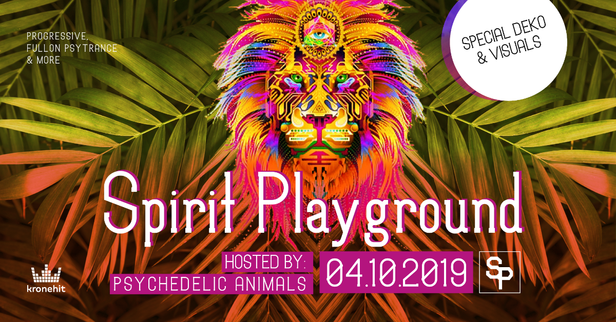 ✷ Spirit Playground ✷ 24/7 Animals - finest Psytrance & more 4 Oct '19, 22:00