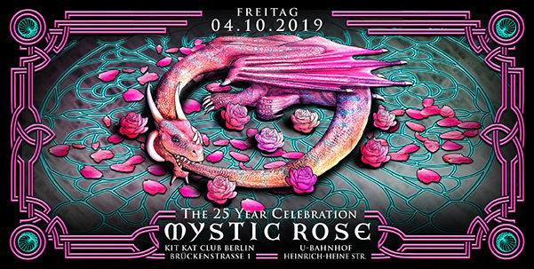 The 25 Year Mystic Rose Celebration 4 Oct '19, 22:00