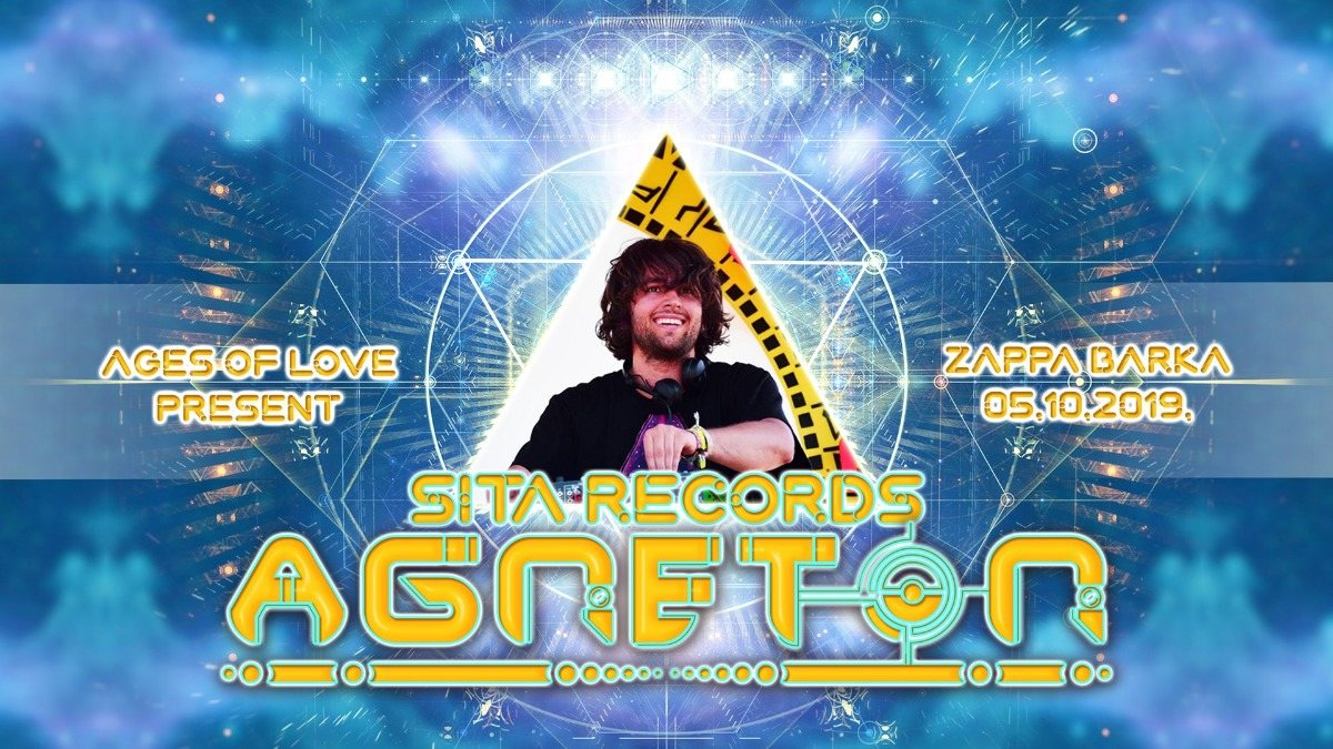 Party Flyer Ages Of Love present: Agneton live! 5 Oct '19, 23:00