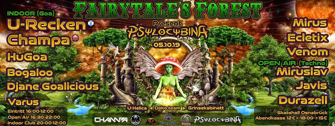 Fairytale's Forest Pt. 1 5 Oct '19, 16:00